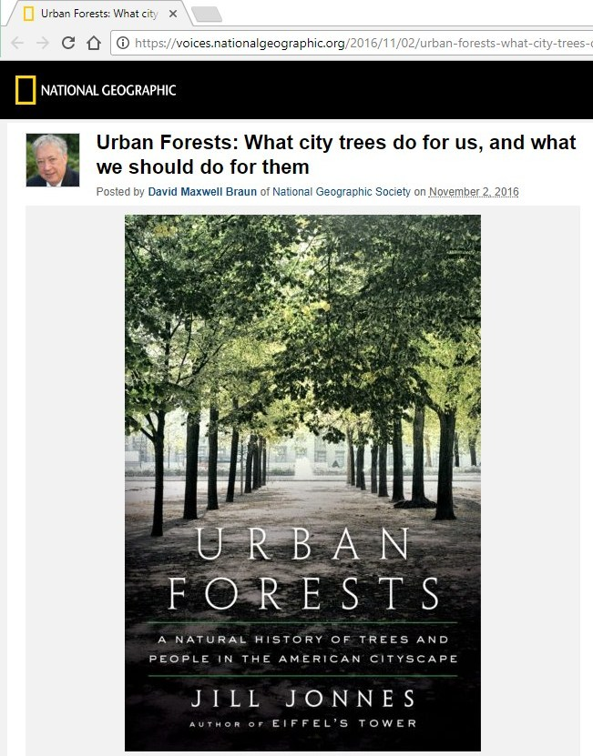 Urban forests - NationalGeographic